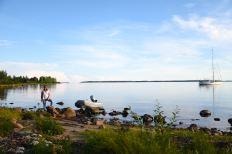 Kataja, Sveriges ostligaste ö, utanför Haparanda