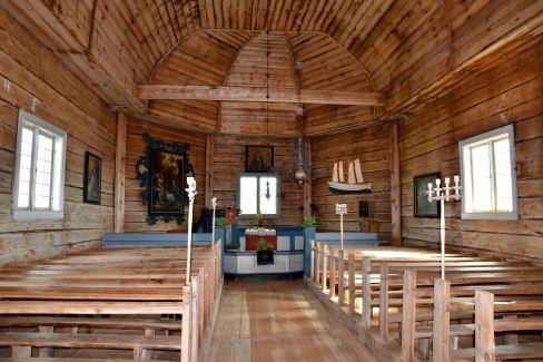 I kyrkan på Malören