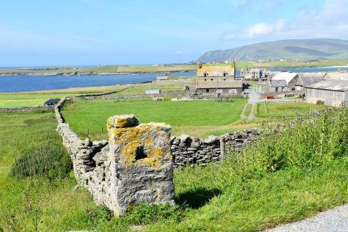 By på södra Shetland