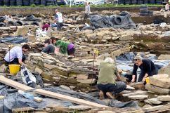 Utgrävning av 3 500 år gammal boplats, Ness of Brodgar