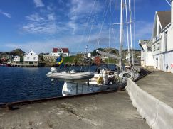 Hamnen på Utsira