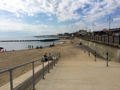 Stranden i Lowestoft