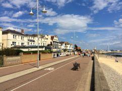 Strandpromenaden i Lowestoft