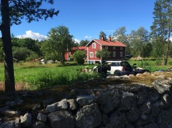 Hos Anders och Eva i Hudiksvall