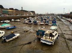 Tidvattenskillnaden på Jersey kan vara upp till 12 m
