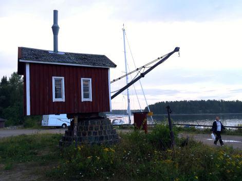 Ångkranen i Galtström