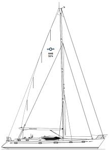 Blis segelplan