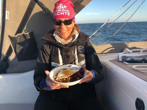Middag till sjöss