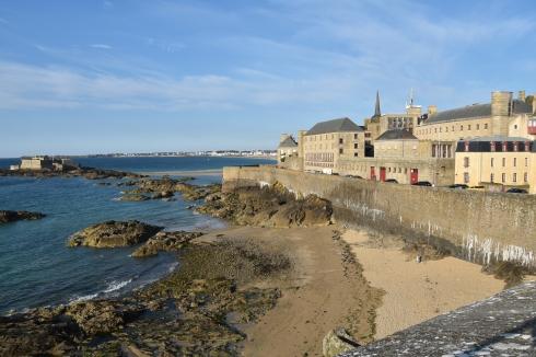 Muren runt Saint-Malo