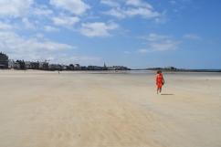 Stranden i Saint Malo