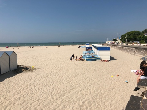 Stranden i Boulogne-sur -Mer