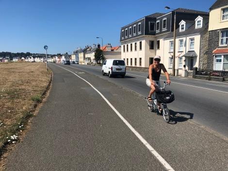 Cykeltur på Guernsey