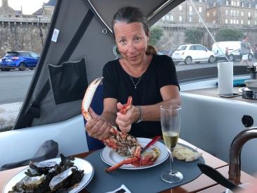 Middag i Saint Malo