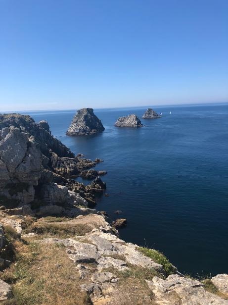 Utsikt från Pointe Pen-Hir