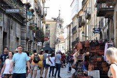 Gamla stan i Santiago de Compostela