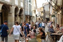 Promenad i Santiago de Compostela