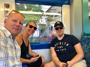 På tåget mot Lissabon