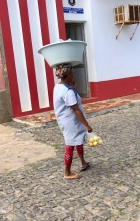 Kvinna i Palmeira