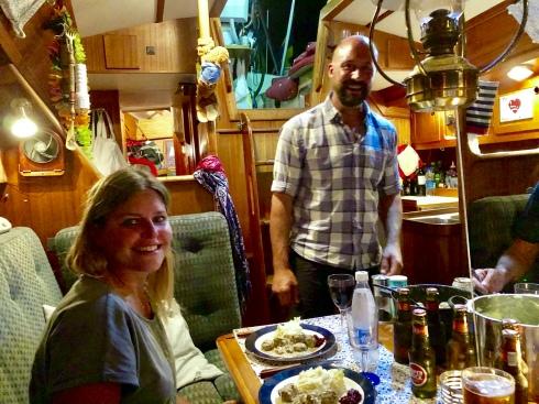 Johan och Maria på Samantha
