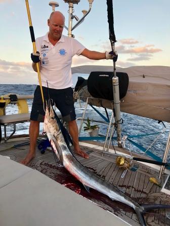 Blue Marlin är äntligen ombord