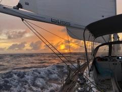 Solnedgång på Atlanten