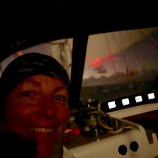 Cecilia på nattpass