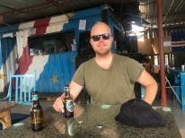 På restaurang i Palmeiraa