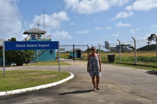 Flygplatsen, Union Island