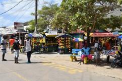 Fruktmarknad i Clifton, Union Island