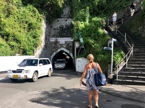 Vi har handlat i St George, Grenada