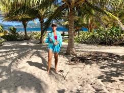 Cecilia på Sandy island