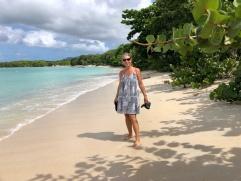 Cecilia på Paradise beach