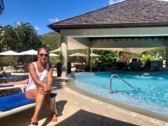 Poolhäng Marigot bay