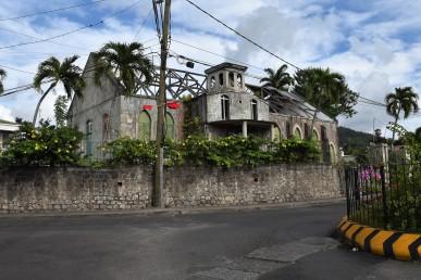 Kyrkan drabbades hårt av orkanen