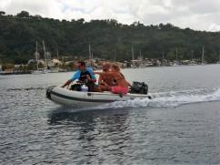 På väg mot dykning