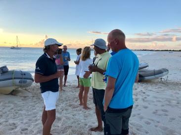 Sundowner på Barbuda