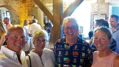 Vi tillsammans med Alan och Sue