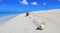 Ellinor på stranden