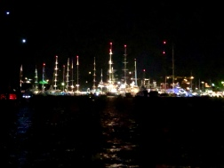 Falmouth by night