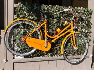 Välutrustad cykel