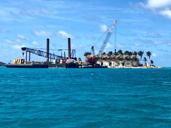 Saba Rock håller på att byggas upp igen