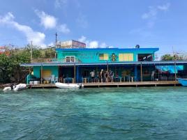 Dinghy dock restaurant
