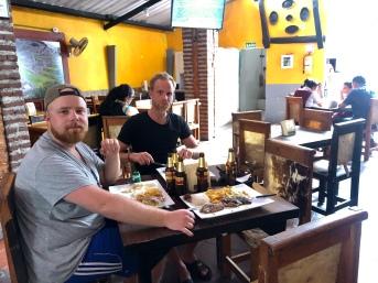 Lunch i Santa Marta