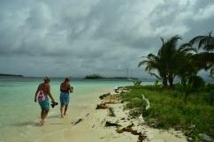 Promenad på Green Island