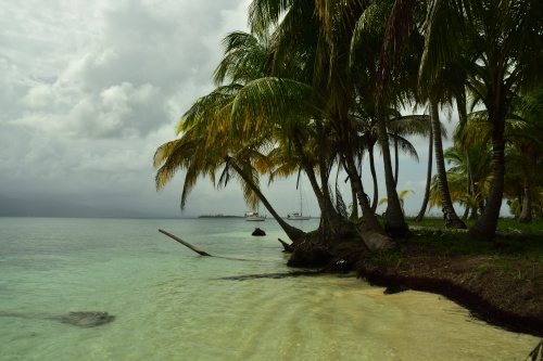 Ankring vid Green Island