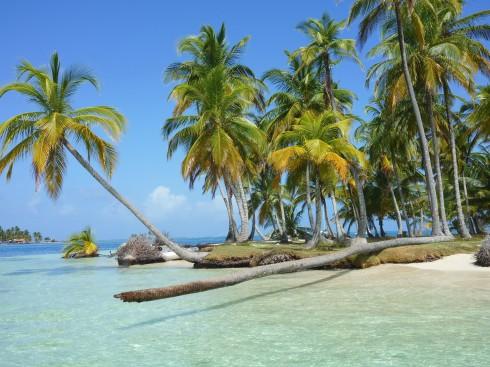 Vårt tillhåll på Lemon Cays