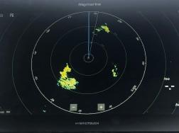Squall på radarn