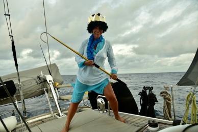 Kung Neptun på besök