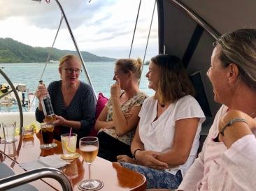 Elisabeth, Cissi, Anki och Cecilia